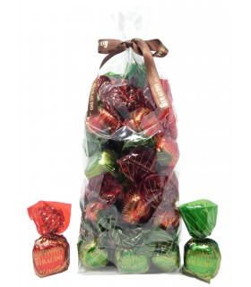 Giraudo dal 1950 - Torrone morbido con nocciole delle Langhe ricoperto di cioccolato fondente